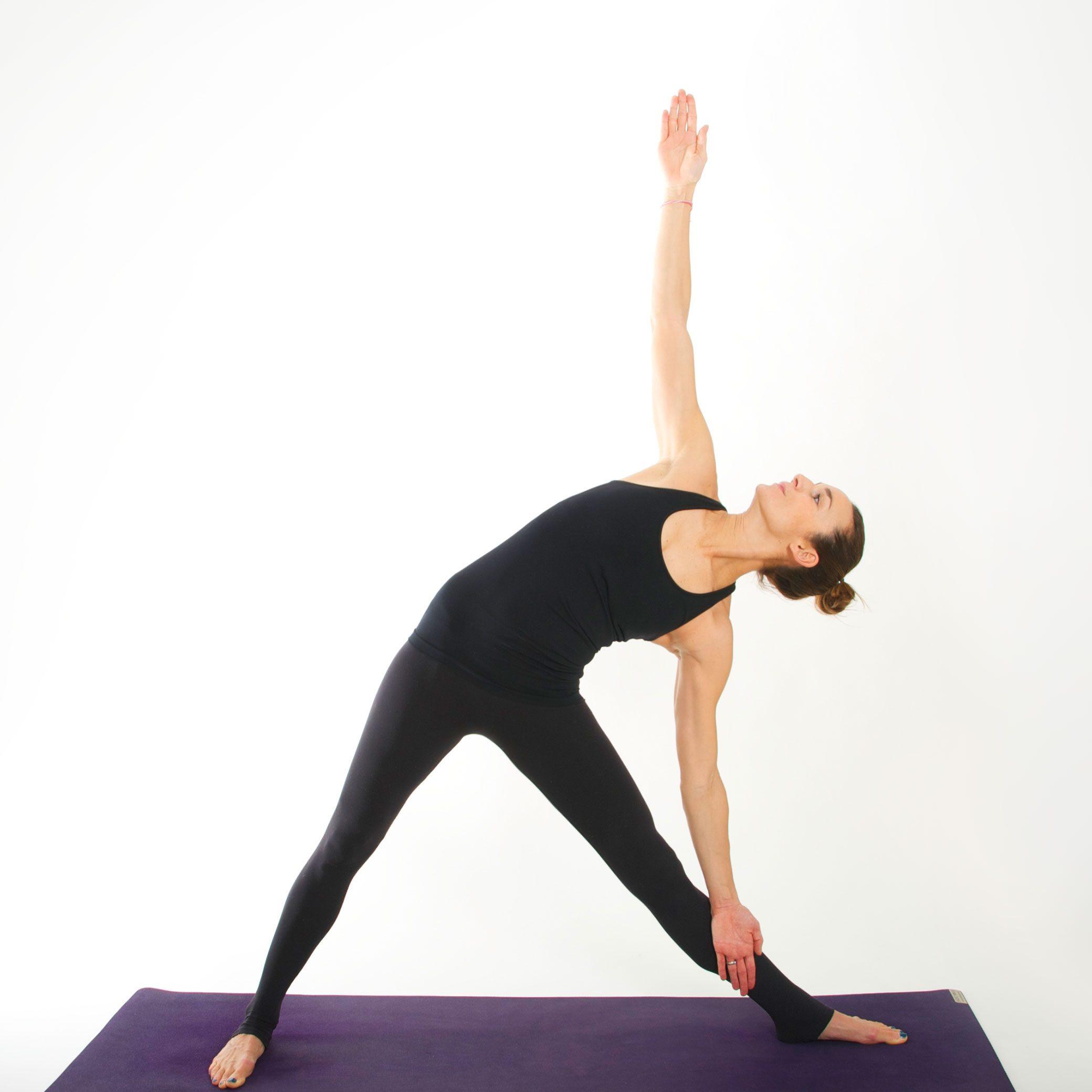 Yoga Asana I DREIECK I myyogaflows