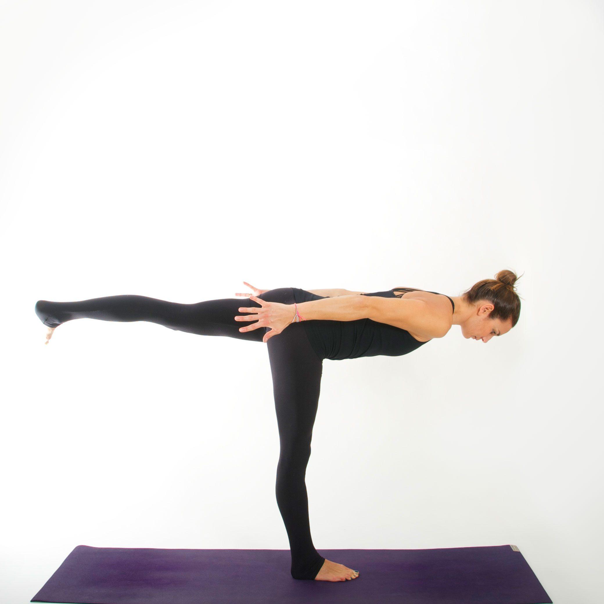 Yoga Asana I KRIEGER III I myyogaflows