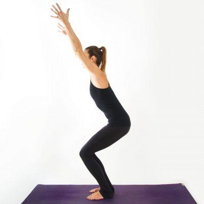 Yoga Asana I STUHL I myyogaflows